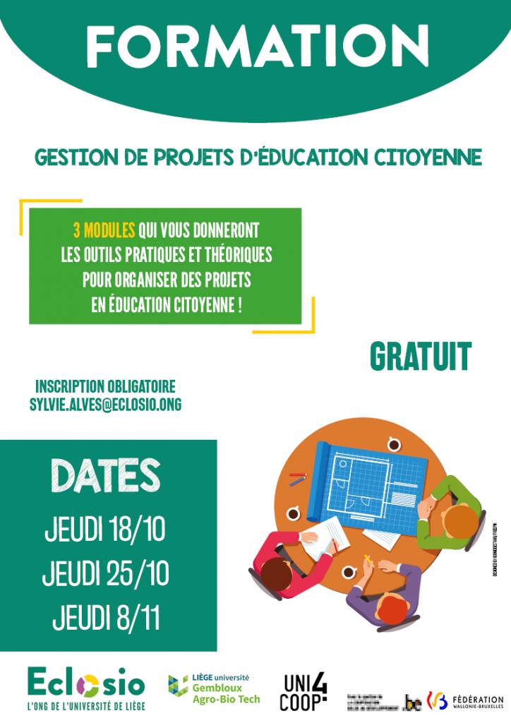 Eclosio_Affiche_Gestion de projet en ECMS - Affiche