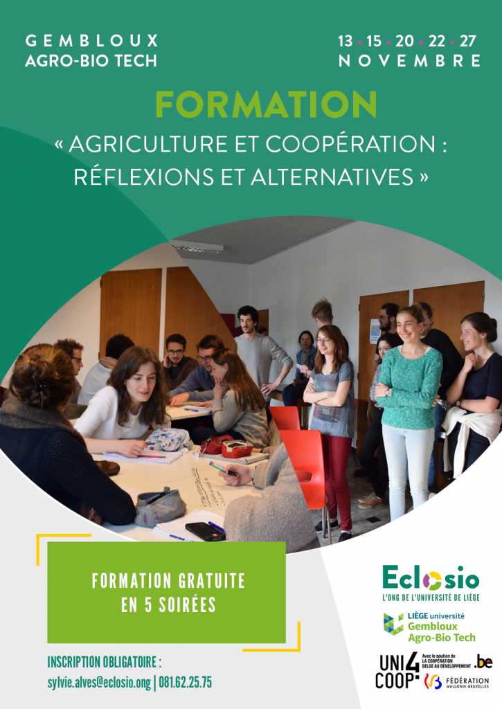 Eclosio_Formation agriculture et coopération