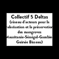 Collectif 5 Deltas (réseau d'acteurs pour la valorisation et la préservation des mangroves Mauritanie-Sénégal-Gambie-Guinée Bisseau)