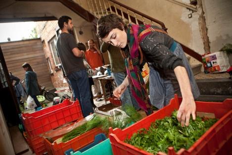 Eclosio | Groupe d'Achat Solidaire de l'Agriculture Paysanne (GASAP) © Dieter Telemans
