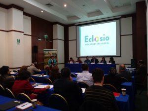 Présentation d'Eclosio à Lima