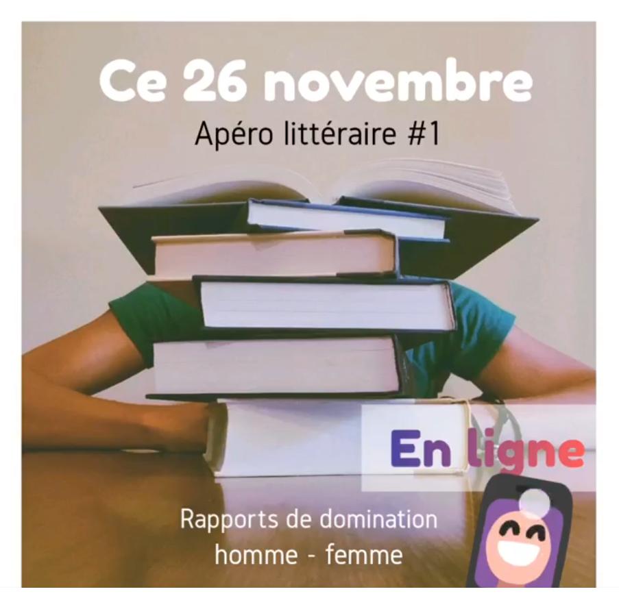 Apéro Littéraire #1 Eclosio