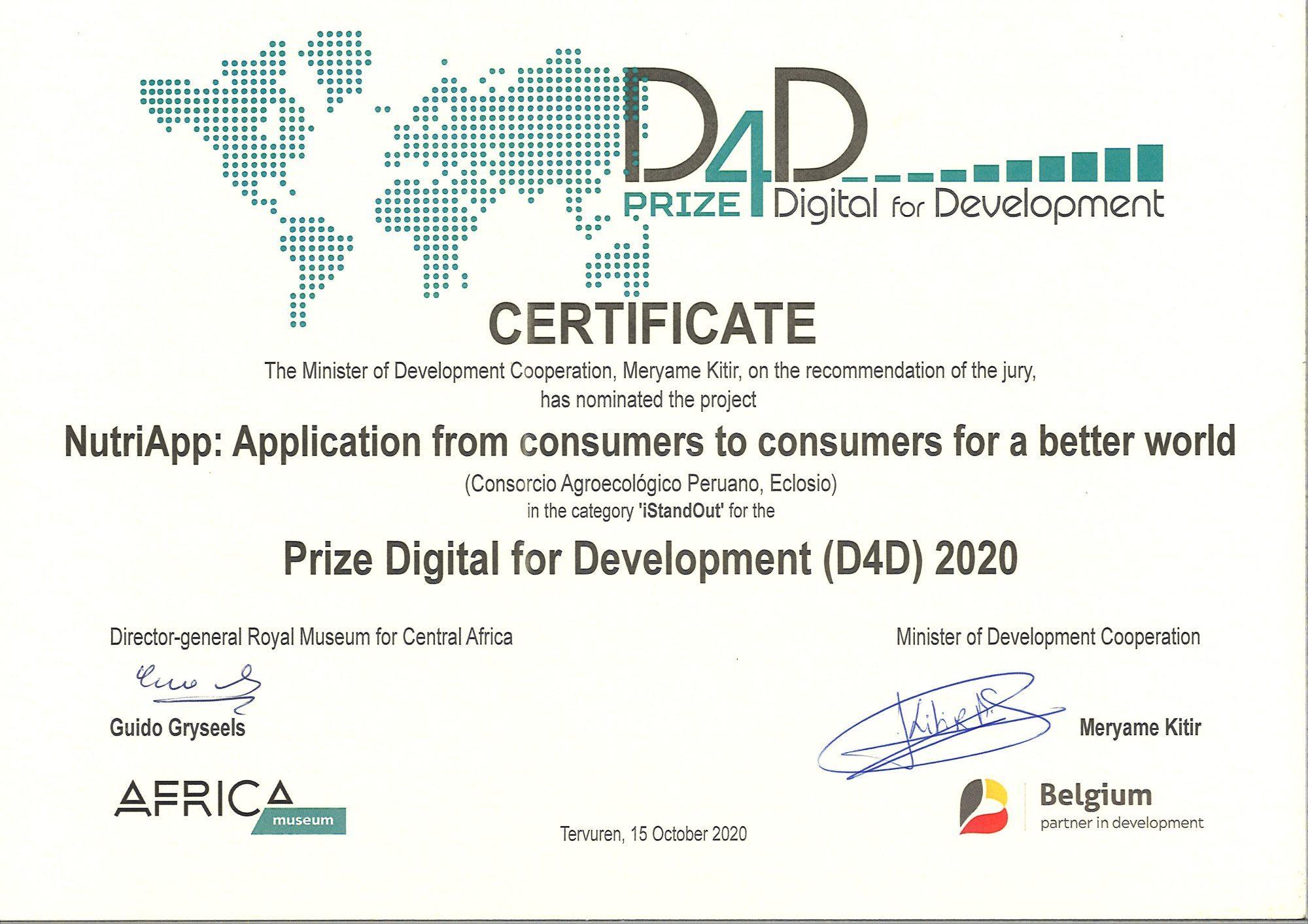Certificat_D4D_NutriAPP