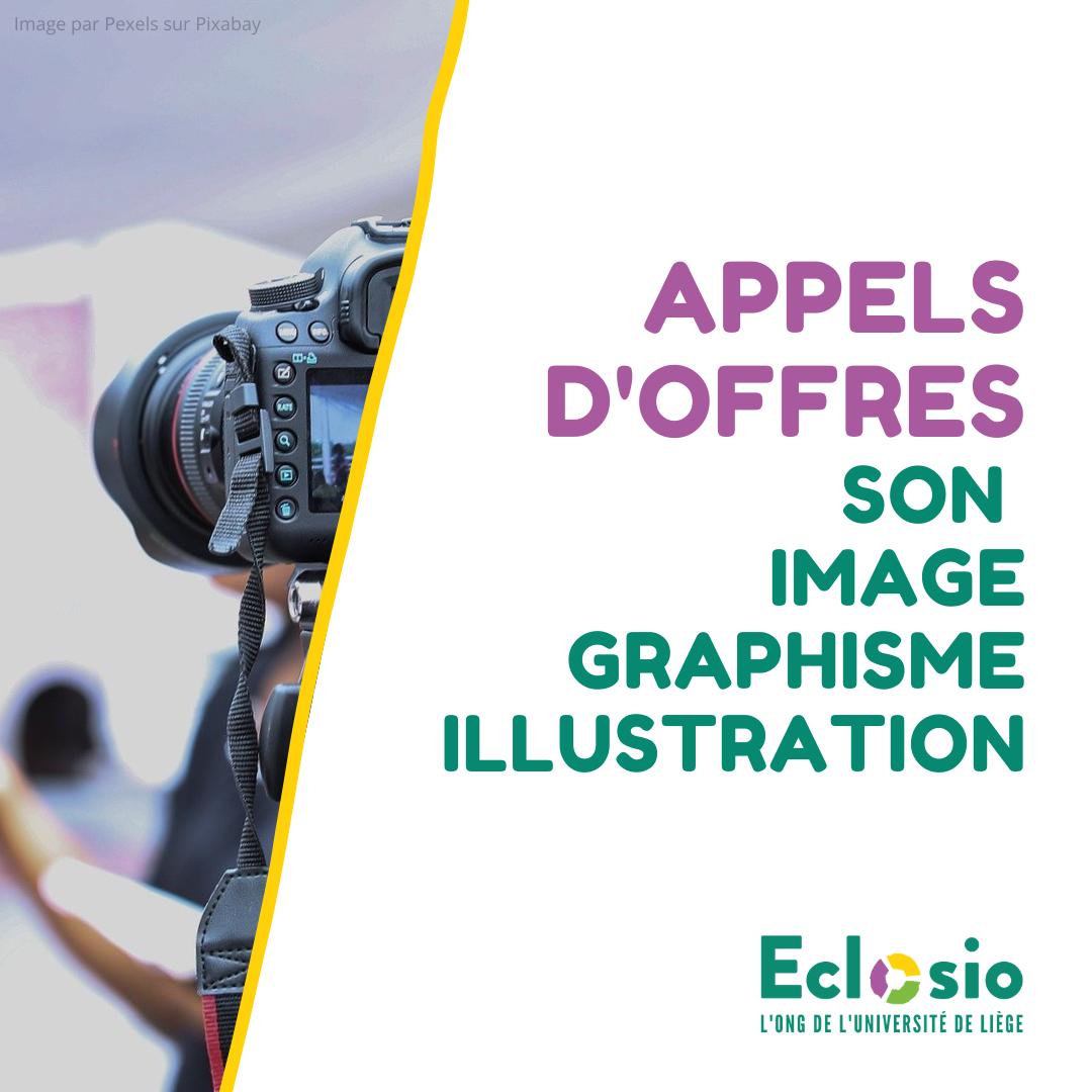 Appels d'offres Eclosio 2020 - Caméra photo Pixabay - Pexels