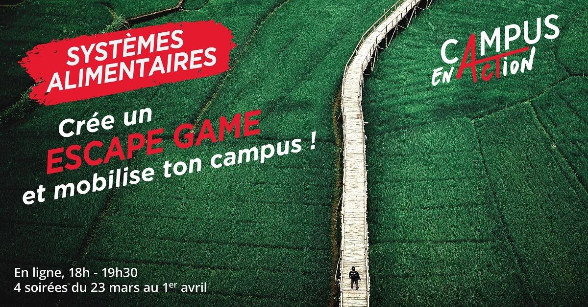 EscapeGame - Campus En Action - UNI4COOP