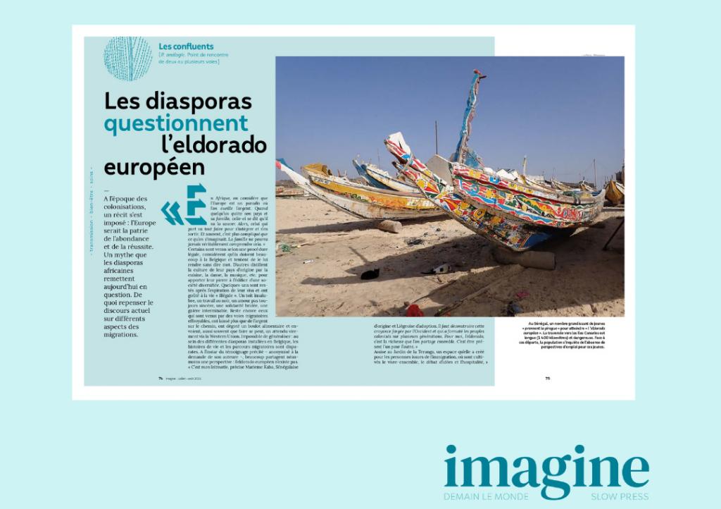 IMAGINE demain le monde - Diaspora et eldorado européen - Diaspora en action - Marieme Kaba